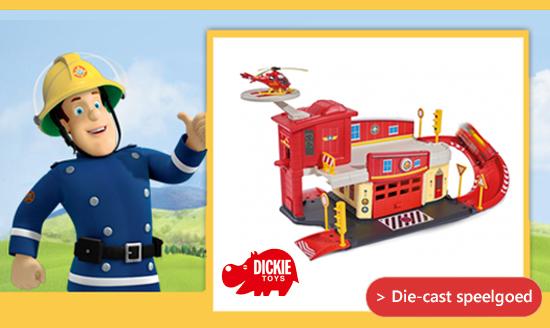 Brandweerman Sam die-cast speelgoed