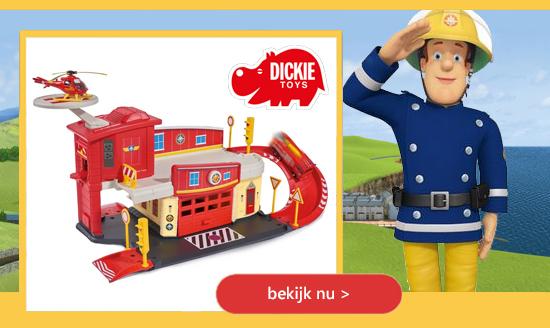 Dickie Toys speelgoed Brandweerman Sam