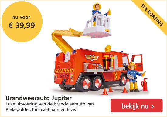 speelgoed Brandweerauto Jupiter Brandweerman Sam