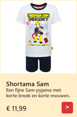 Brandweerman Sam shortama