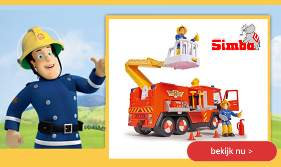 Brandweerman Sam speelgoed Simba