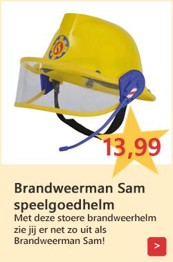 Brandweerman Sam speelgoedhelm
