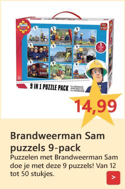 Brandweerman Sam puzzels