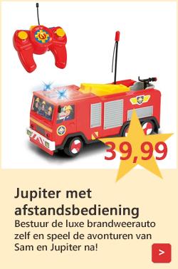 Brandweerman Sam speelgoed brandweerauto op afstand bestuurbaar