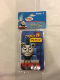 Thomas uitnodiging kaarten  6 stuks