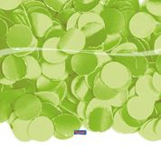 Confetti Lime green 100 gram