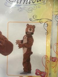 Bear Trudi carnaval 1/2 jaar 73 cm