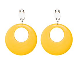 Earrings Hippie Yellow