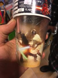 Star wars bekers 8 stuks
