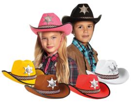 Cowboy hoed black