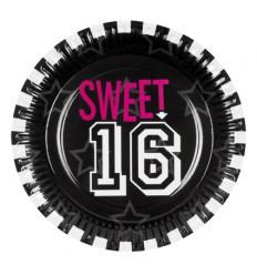 "BORDJES ""SWEET 16"" (6 STUKS)"