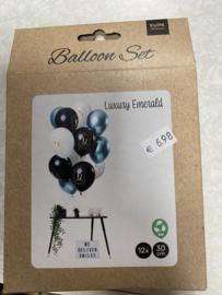 Ballonnen 12.5 jaar 12 stuks