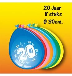 20 jaar ballonnen