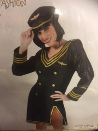 Airline Captain  Dress, Hat maat 44-46