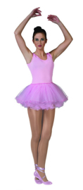 Ballerina pink dress maat 32/34