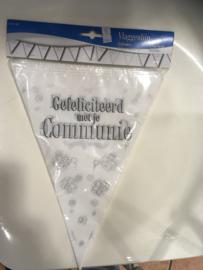 gefeliciteerd met je communie vlaggenlijn