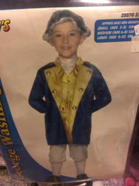 George Washington 3/5 jaar 110 cm