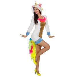 Eenhoorn, maat 34. Kostuum bestaat uit: jurk.