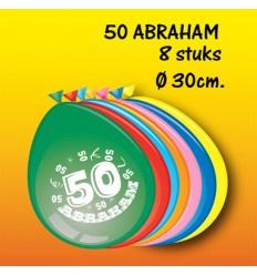 50 jaar abraham ballonnen