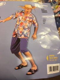 HawaiShirt met broek volwassen one size