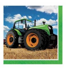 Tractor Servetten 33x33 cm 16 stuks