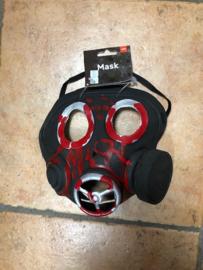Gasmasker Horror met Bloed