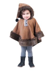 Eskimo Nalu Baby One Size Puncho With Hood