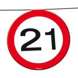 21 jaar verkeerslinger 12 meter 15 signs