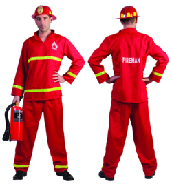 Firefighther Sam Shirt pants maat 48/50