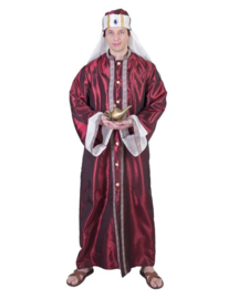 Abriam prince one size robe,hat,wit veil