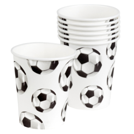Cups Football 6 pcs set