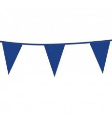 Vlaggenlijn Blauw 10 meter plus minus