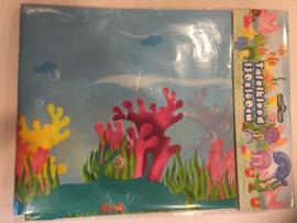 Water dieren tafelkleden 130x180 cm