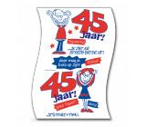 WC Rol 45  jaar