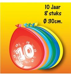 10 jaar ballonnen