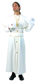 Holy Pope Robe with cape belt hat maat 48/50