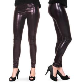 Legging Metalic zwart maat L/XL