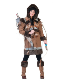 Eskimo Nalu Woman maat 36/38 coat with hood, boot covers