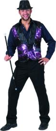 All That jazz Vest purple maat 48/50