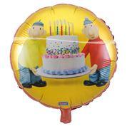 Folie ballon Buurman en Buurman wordt geleverd zonder helium