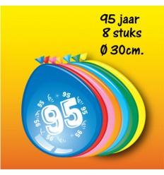 95 jaar ballonnen