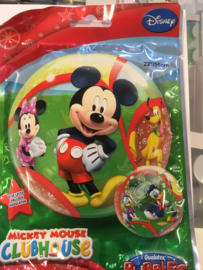 22 inch folie ballon bubble Mickey mouse wordt geleverd zonder helium