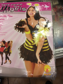 Bumble bee dressmaat 140