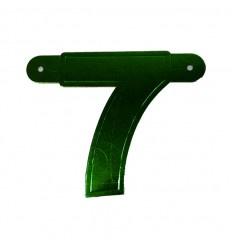 Banner cijfer 7 Groen 1 pcs