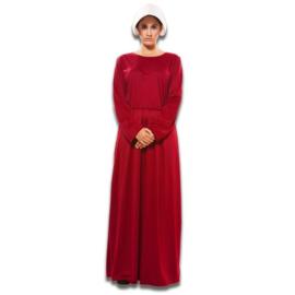 Handmsid's Tale jurk Kostuum Handmaid's Tale jurk, maat M/L. Kostuum bestaat uit: jurk, tas en kapje.