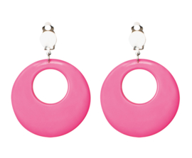Earrings Hippie Pink