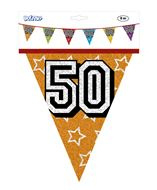 Vlaggenlijn 50 jaar ca 8 meter