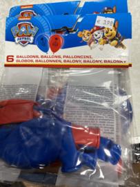 6 stuks ballonnen
