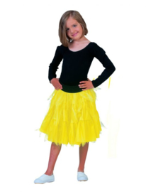 Fancy Petticoat Neon Yellow Child One Size
