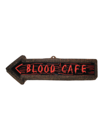 Blood café waldeco plus minus 57x19 cm